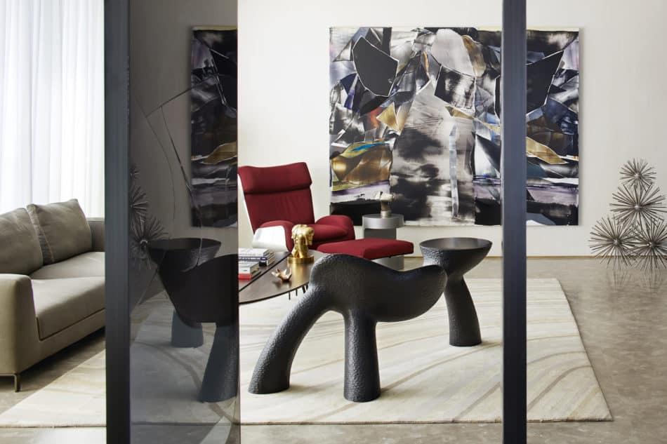 Beirut apartment lounge by Gatserelia Design