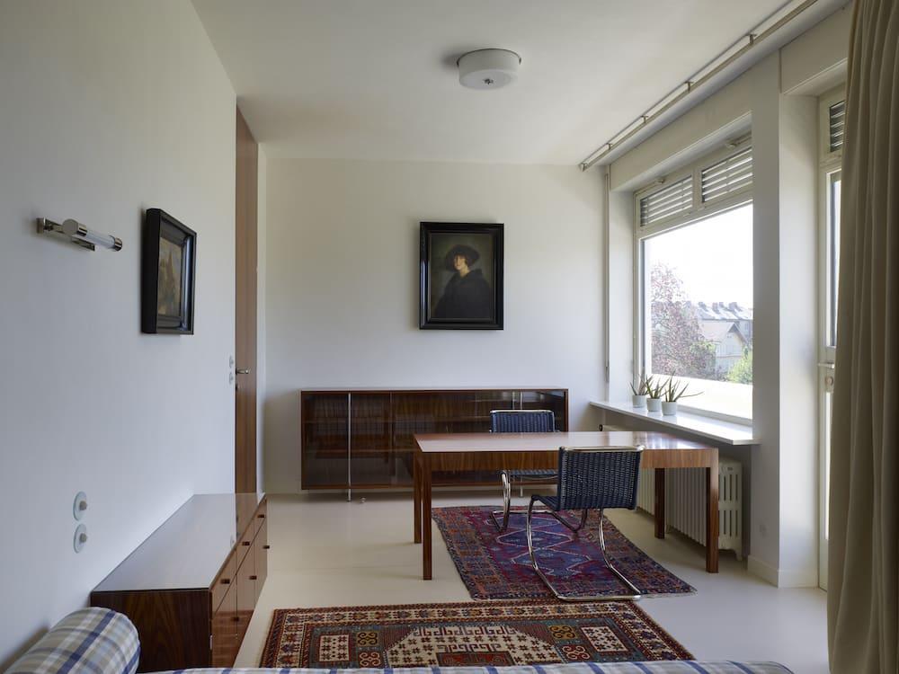 Fritz's personal room at Villa Tugendhat
