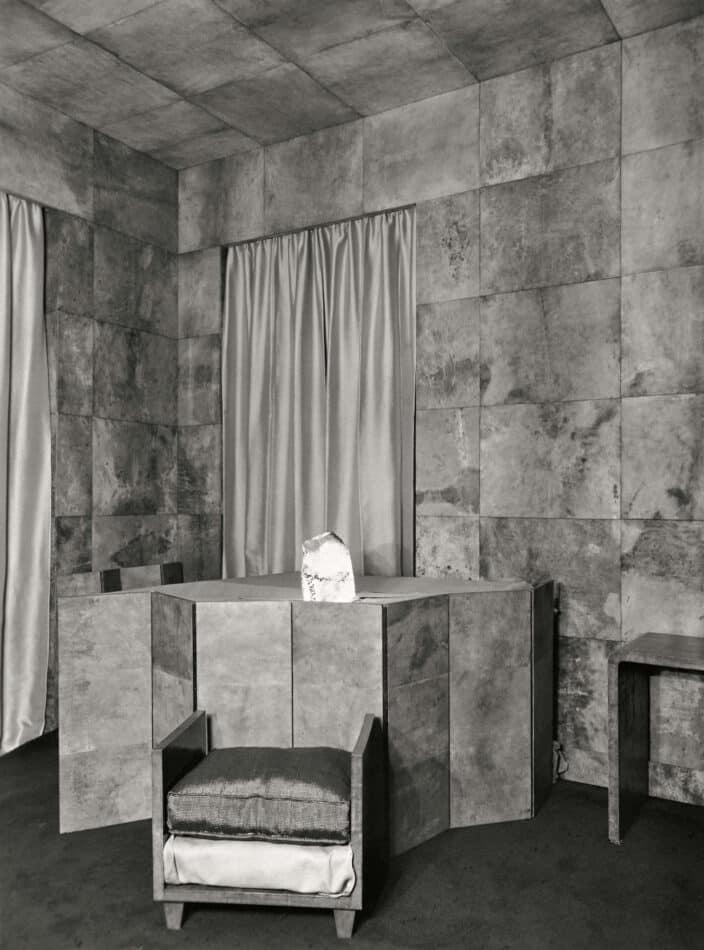 Templeton Crocker's living room designed by Frank