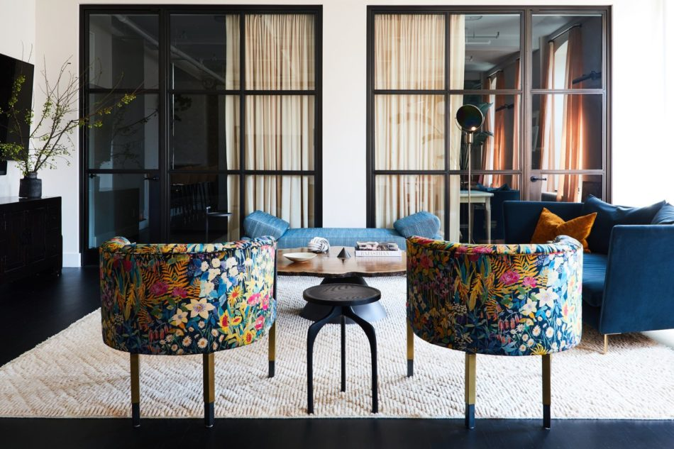 Nolita loft living room by Jesse Parris-Lamb