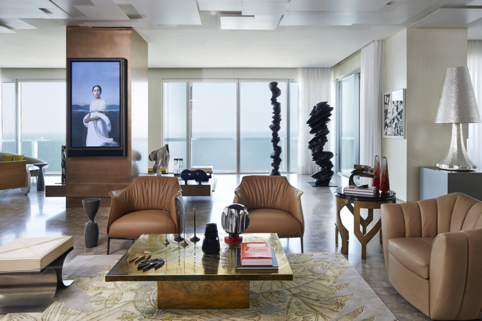 Beirut apartment living room by Gatserelia Design