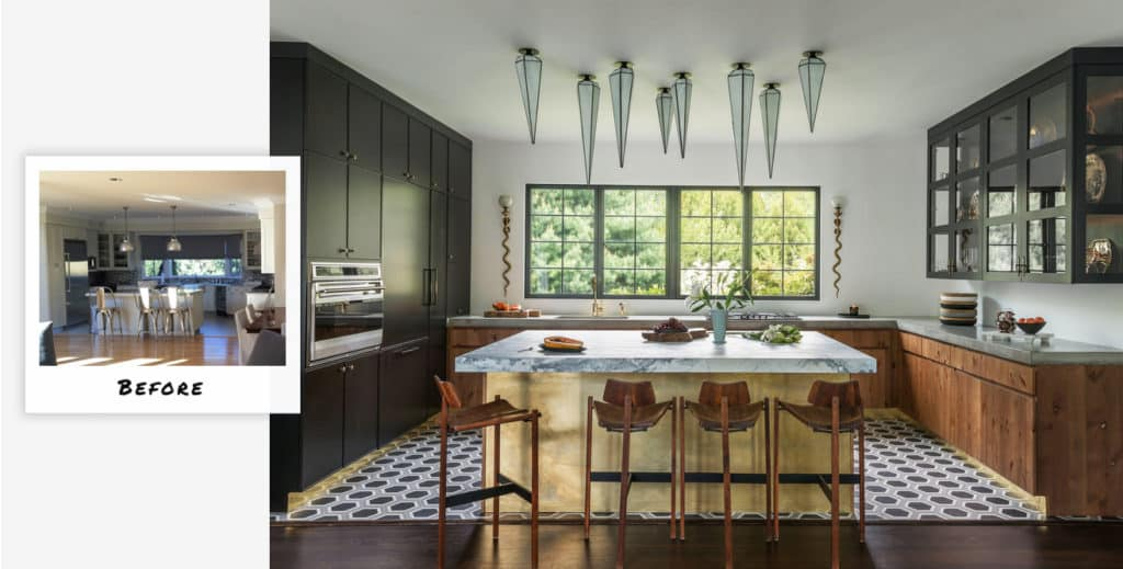 East Hampton kitchen makeover by Studio Hus.