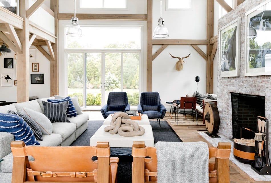 Hamptons living room by Timothy Godbold
