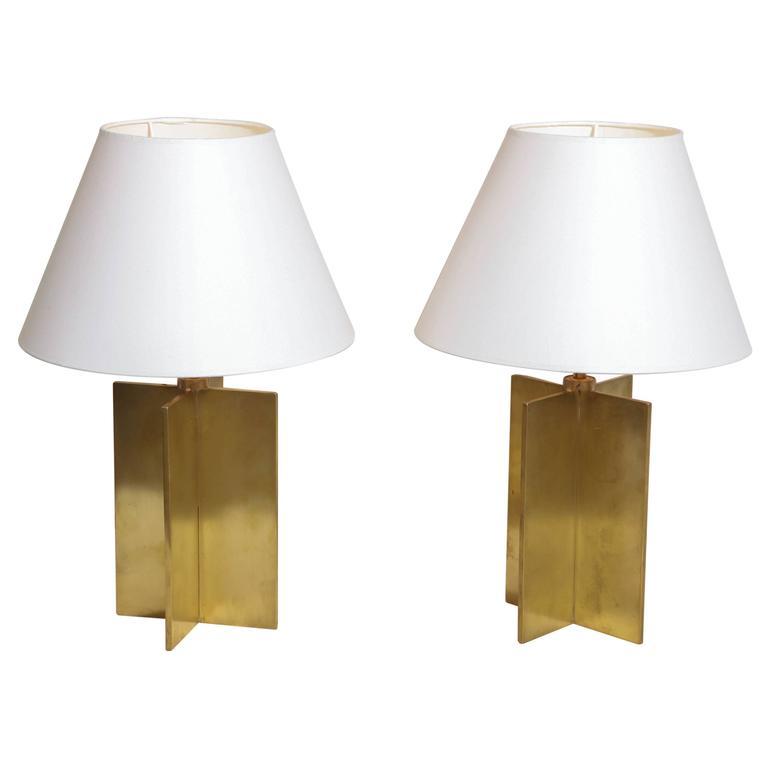 Croisillon table lamps