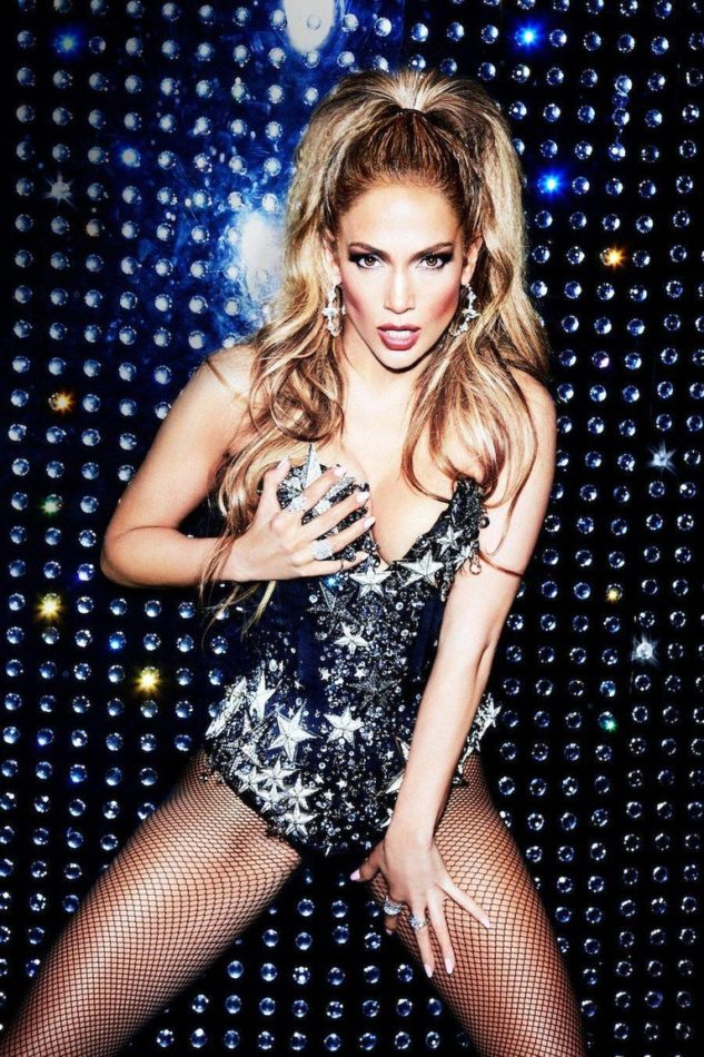Portrait of Jennifer Lopez by Ellen von Unwerth