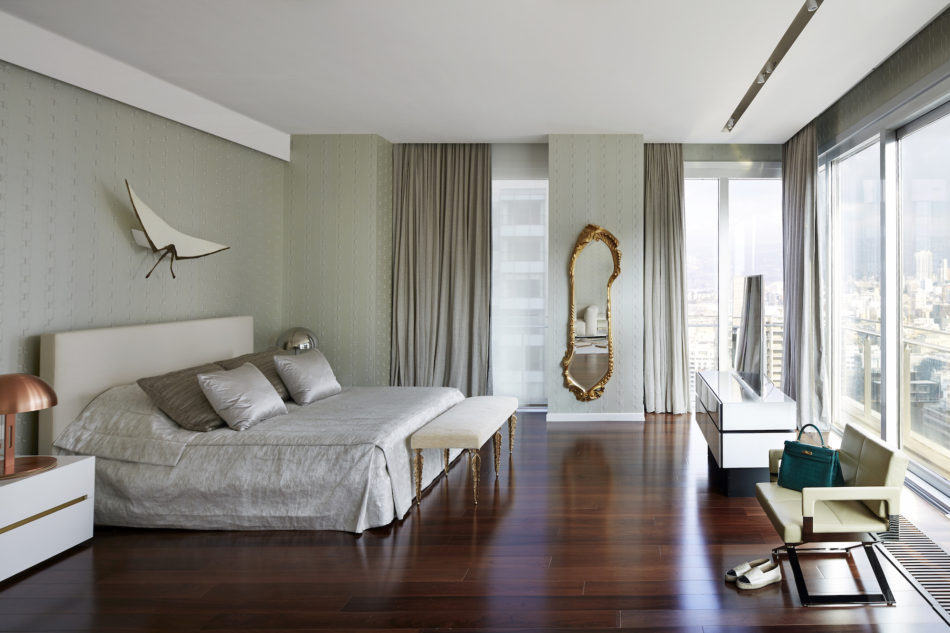 Beirut apartment bedroom by Gatserelia Design