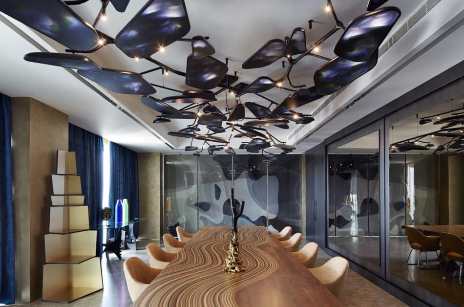 Beirut apartment dining room by Gatserelia Design