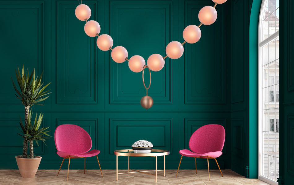 Larose Guyon's Coco chandelier