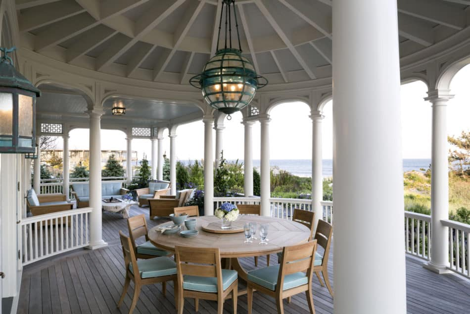 East Quogue NY patio by Robert A M Stern Architects