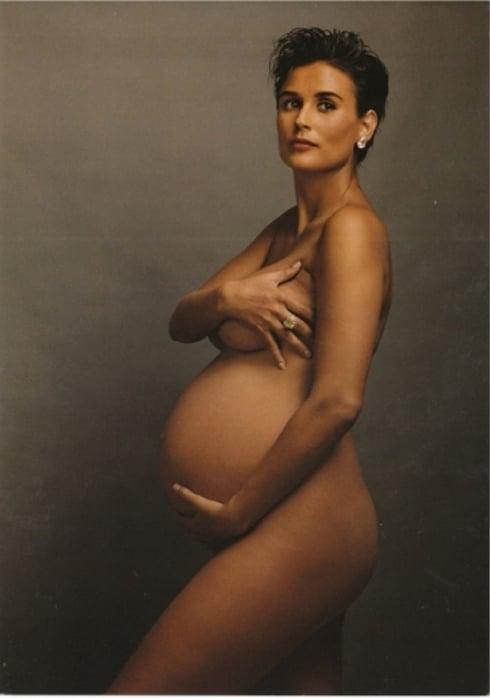 Demi-Moore-by-Annie-Leibovitz-