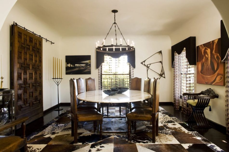 dining room by Studio Shamshiri