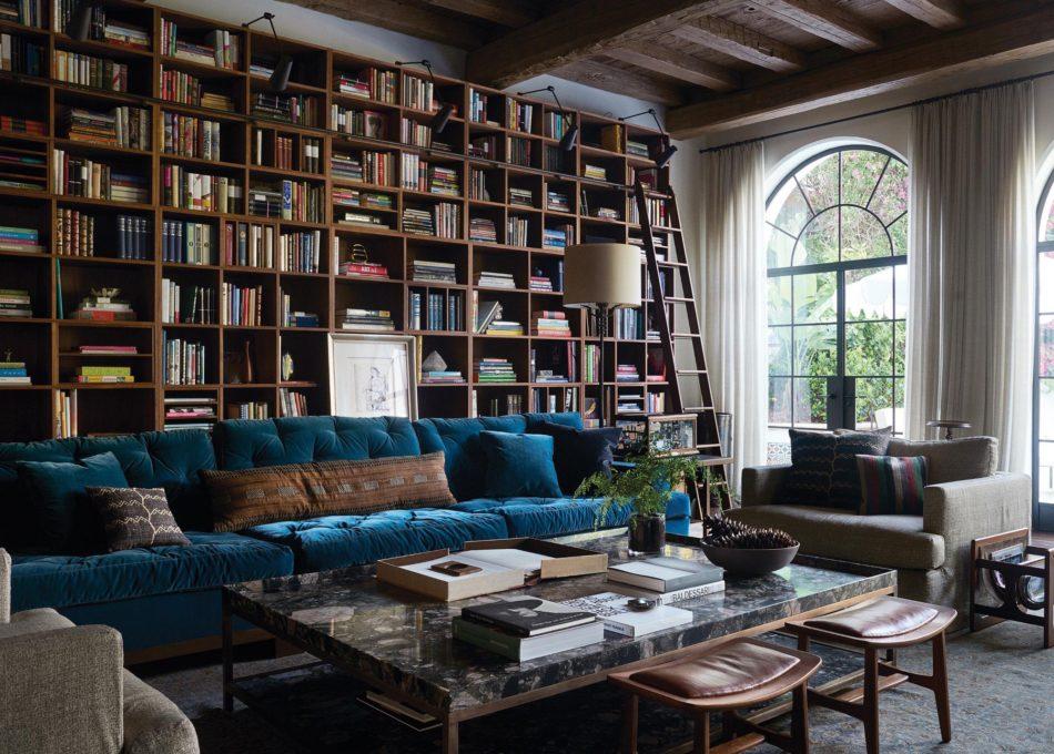 Library by Kerry Joyce Associates, Inc. in Santa Monica