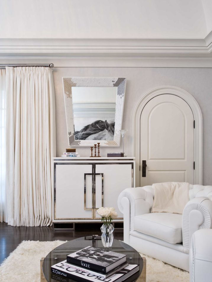 A chic living space by Nicole Fuller in Suffern, New York