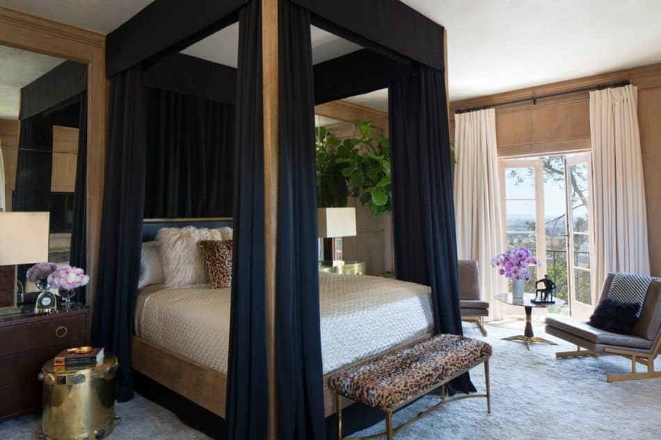 Martyn Lawrence Bullard West Hollywood bedroom