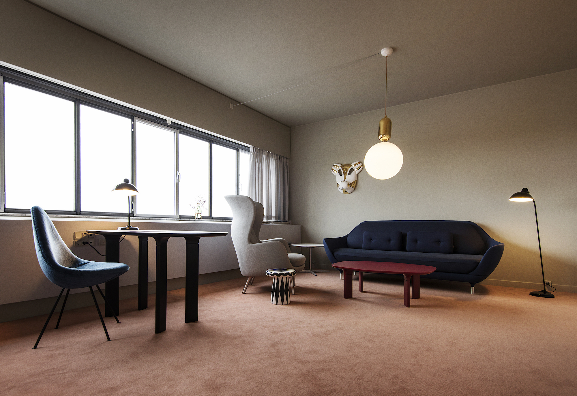 Room 506, designed by Jaime Hayon, at the Radisson Blu Royal Hotel in Copenhagen