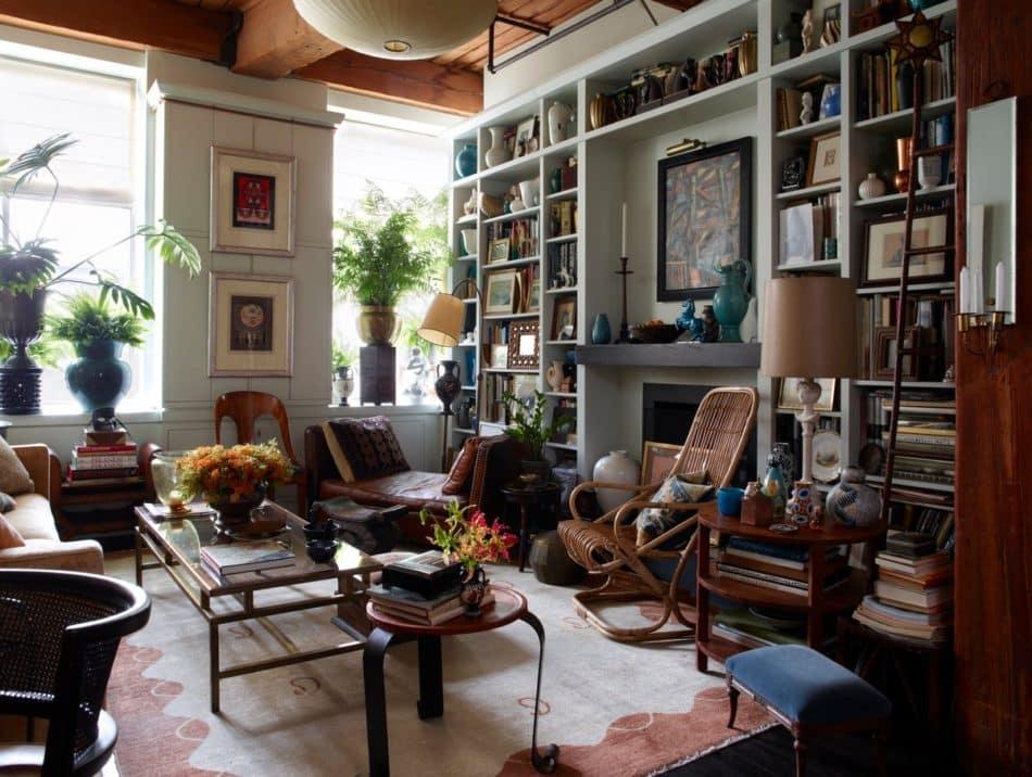 New York living room by Alexandra Loew