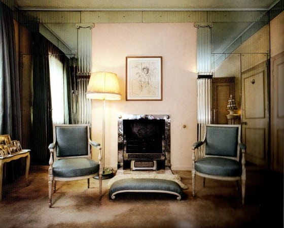 """Maugham created this dressing room for the residence of Helen and George Hay Whigham in Mayfair, London. The Whighams' daughter Margaret wrote that he father was """"aghast at the size of [Maugham's] bills, but the results were worth it."""""""