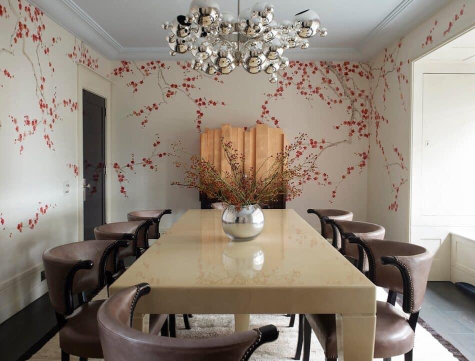 Rafael de Cárdenas dining room