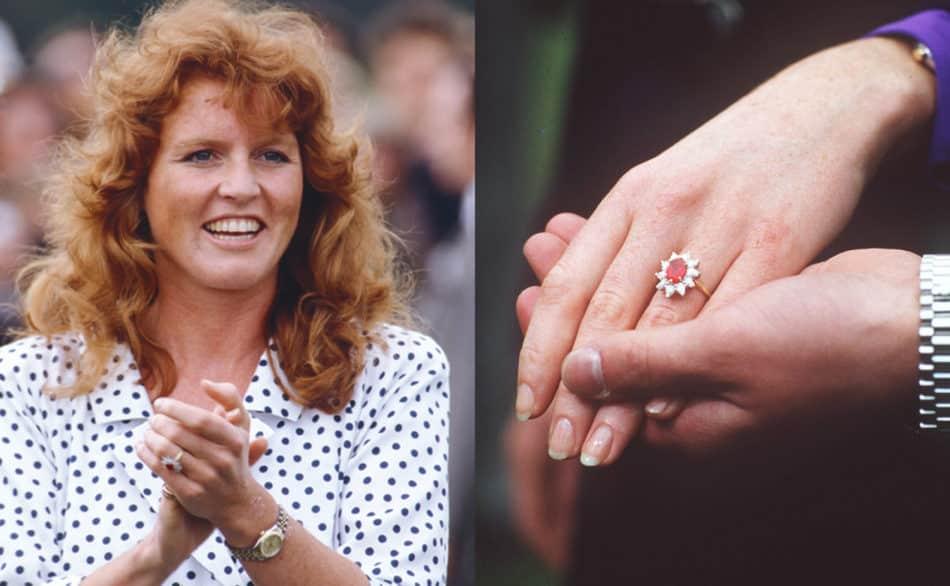 Sarah Ferguson engagement ring