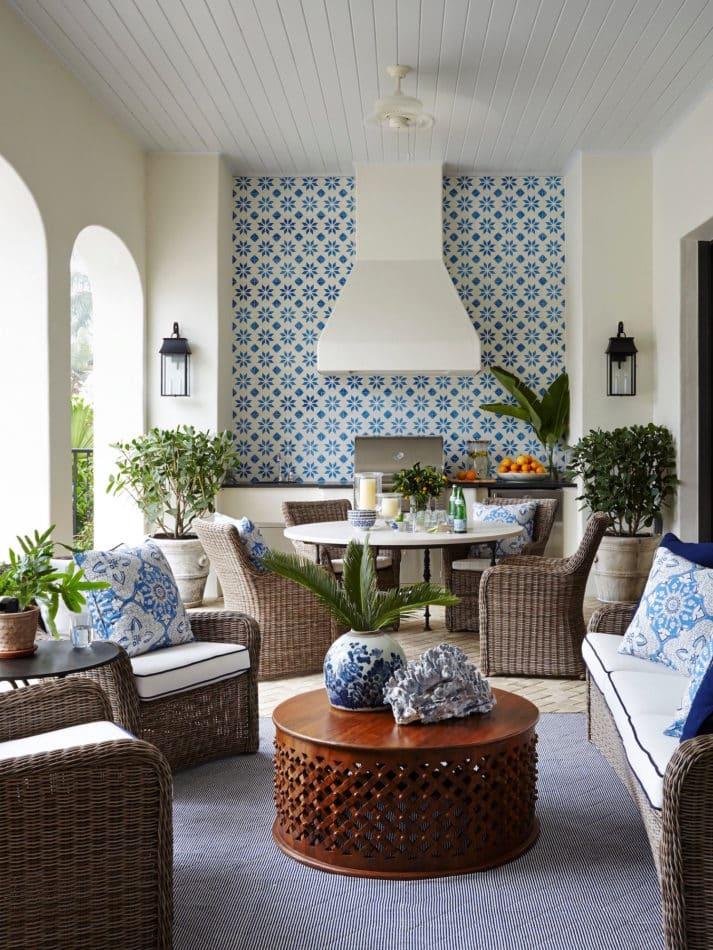 Florida patio by Summer Thornton