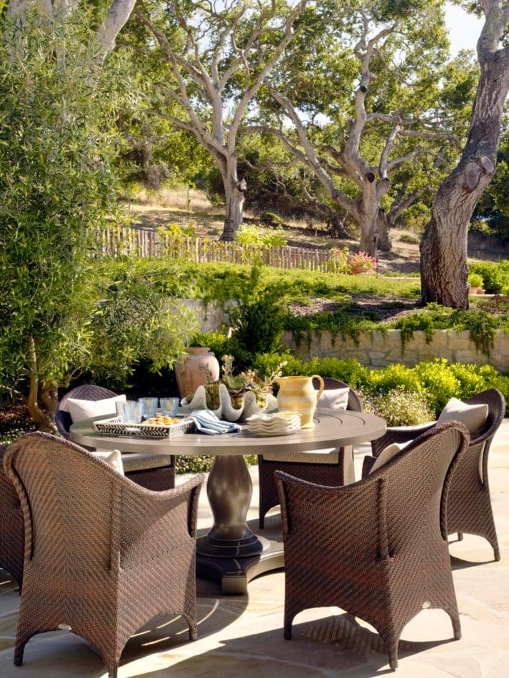 Carmel Valley patio by Tucker and Marks
