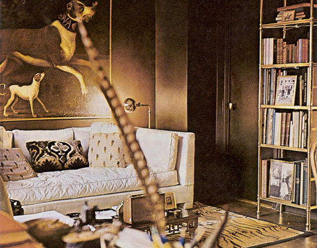 Baldwin's own New York City apartment.