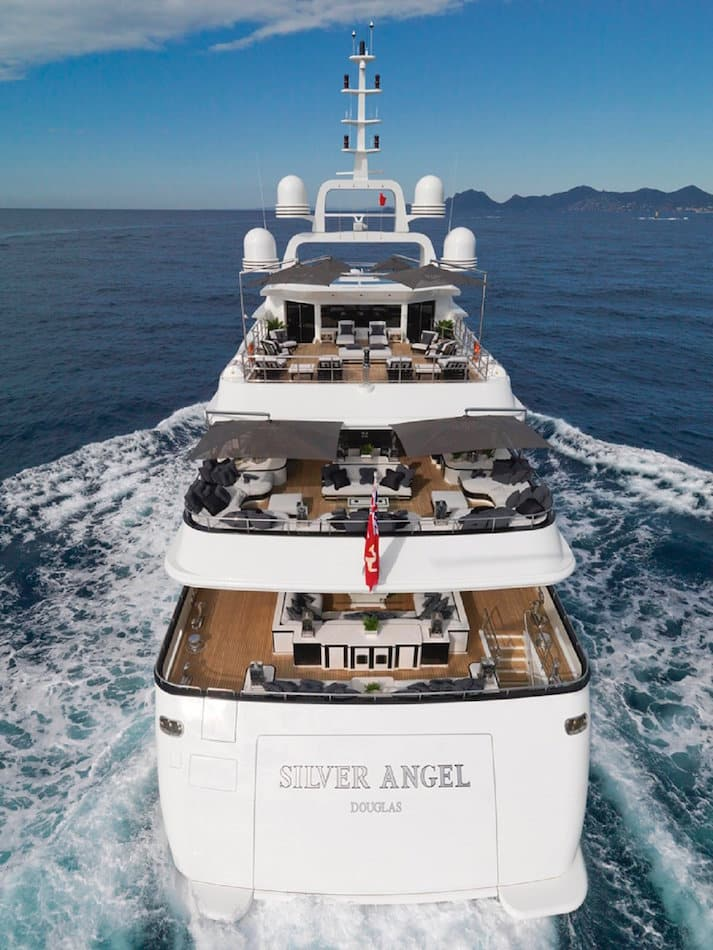 Silver Angel yacht by Argent Design
