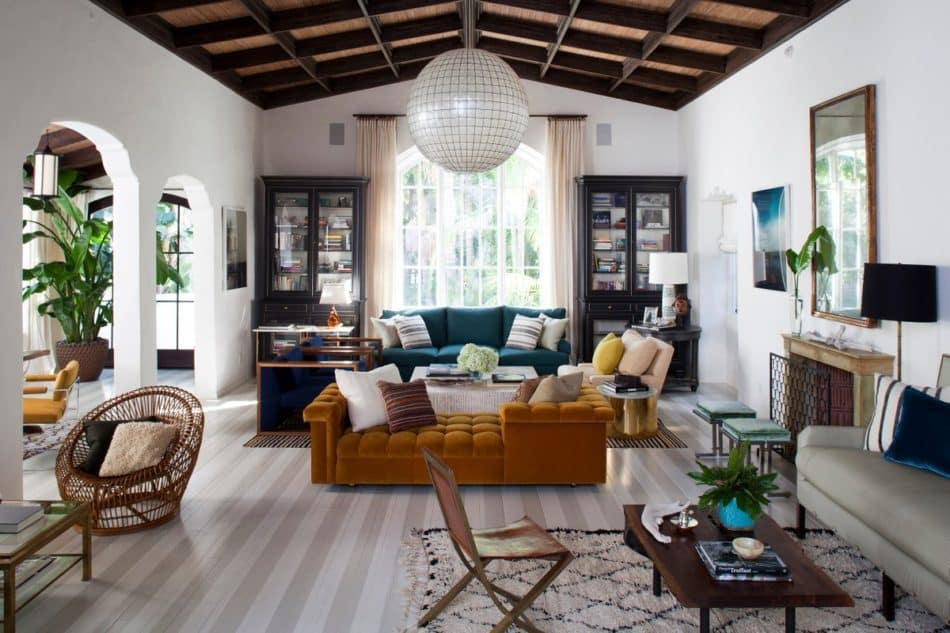 living room by Nate Berkus
