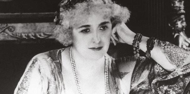 A portrait of Rose Cumming.