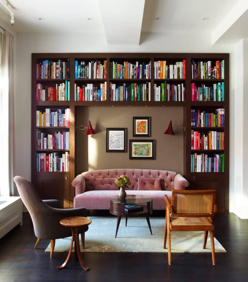 Tribeca loft living room by Damon Liss