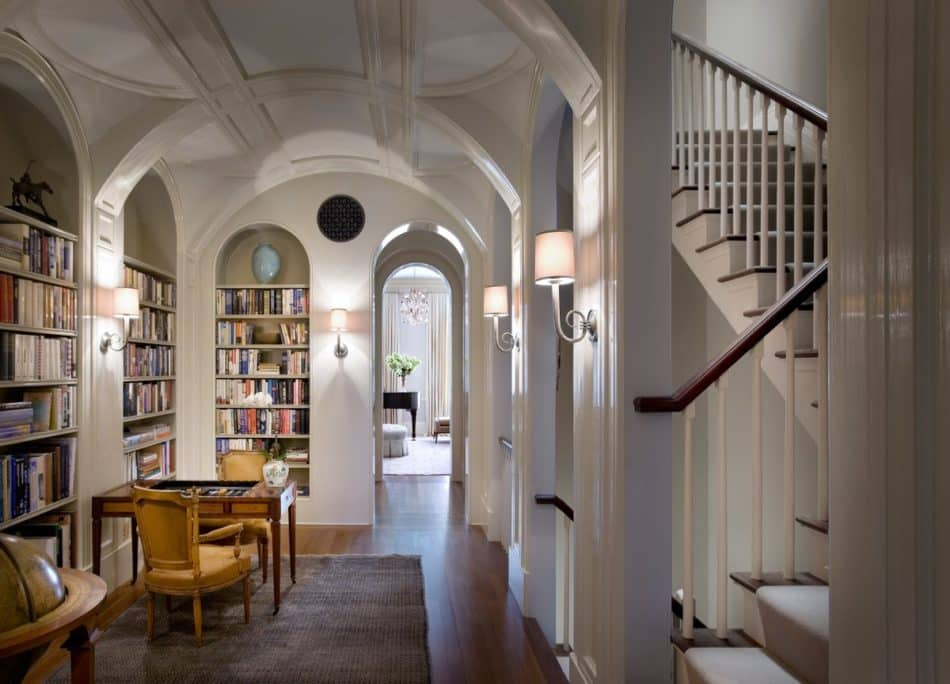 library by Peter Pennoyer Architects
