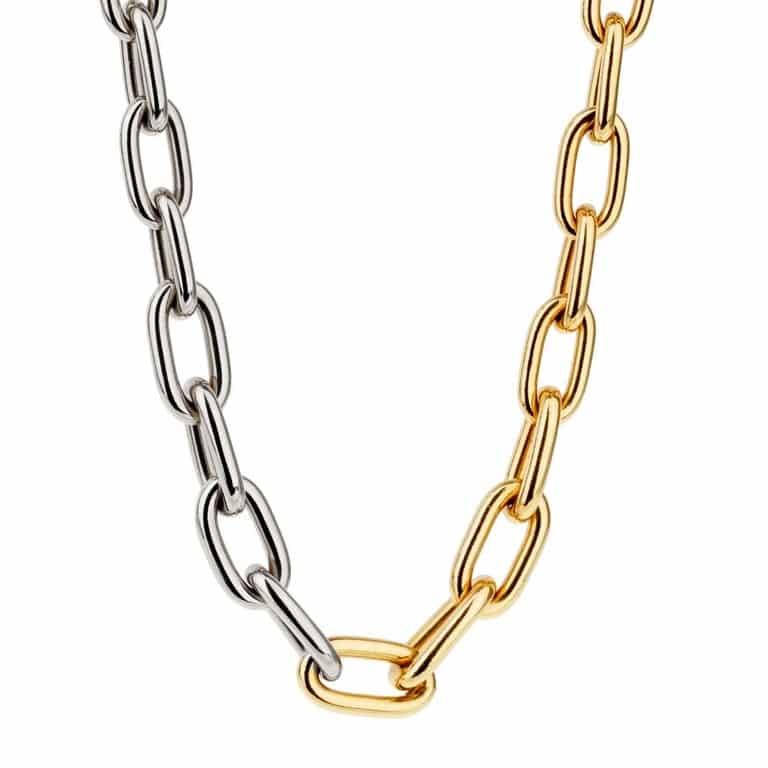 Pomellato chain link necklace, 2000s