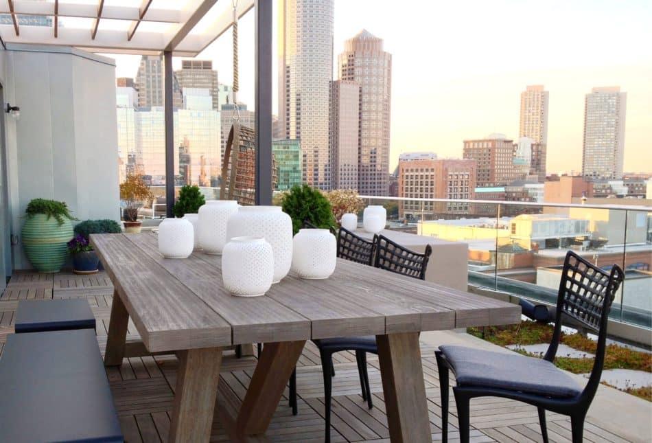 Boston patio by Studio Dykas
