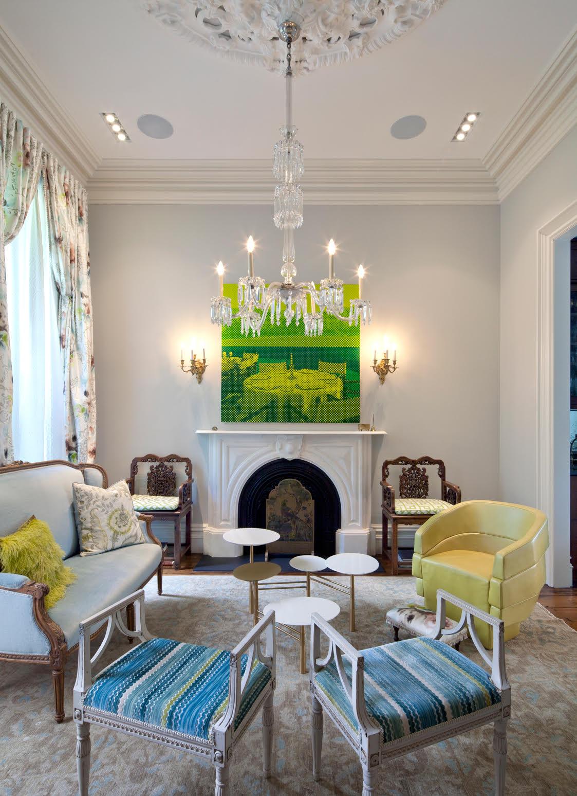 Brooklyn living room by Tamara Eaton